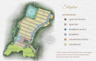 Siteplan premier estate 2